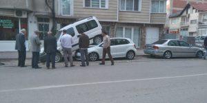 Orhaniye Mahallesinde İnanılmaz Kaza