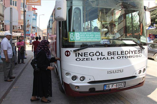 İnegöl'de Belediye Otobüs Şöförüne Saldırı