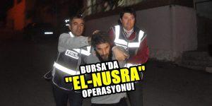 Bursa'daki terör operasyonunda 3 tutuklama!