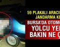 Bursa'da araçtan yolcu yerine midye çıktı