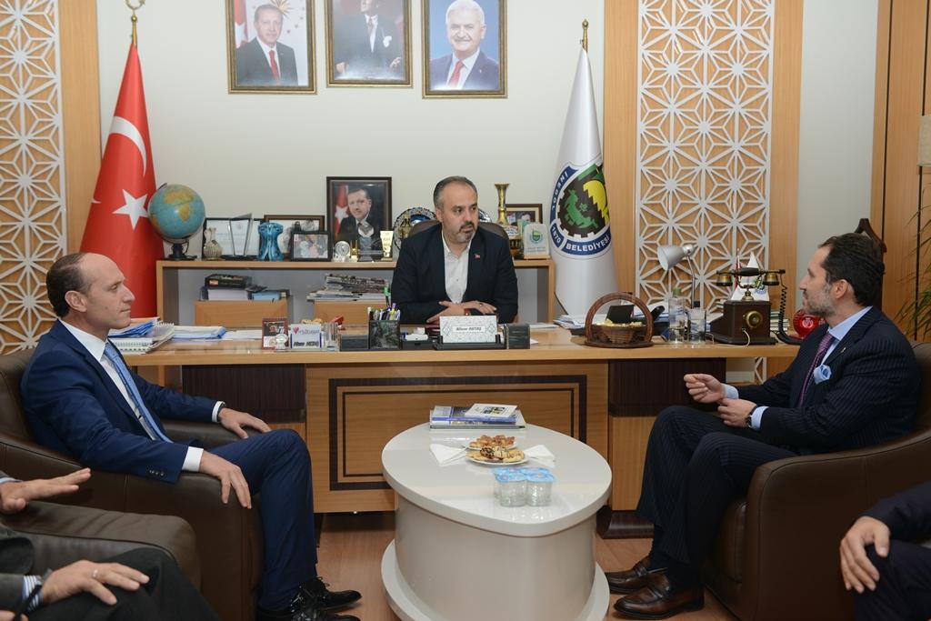 Fatih Erbakan'dan Aktaş'a Ziyaret
