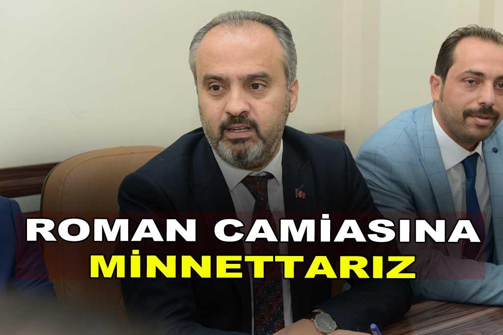 ROMAN CAMİASINA MİNNETTARIZ