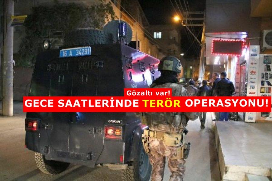 Bursa'da polis uygulamasında 3 gözaltı