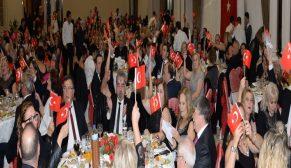 İnegöl Rotary'den coşkulu  Cumhuriyet kutlaması