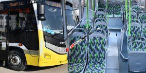 İnegöl'ün Halk Otobüsü Filosu Yenilendi