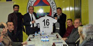 İnegölspor Yönetiminden Fenerbahçeliler Derneğine Ziyaret