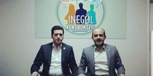 İnegöl'ün Yeni STK Grup Başkanı Seçildi