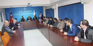 Doğugücüspor'dan Ak Parti'ye Ziyaret