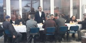 Mhp'liler Hamzabeyliler İle Kahvaltıda Buluştu