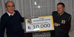 Fenerbahçeliler Derneğinden İnegölspor'a Yardım