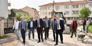 Süleymaniye Mahallesine Hizmetler Sürüyor