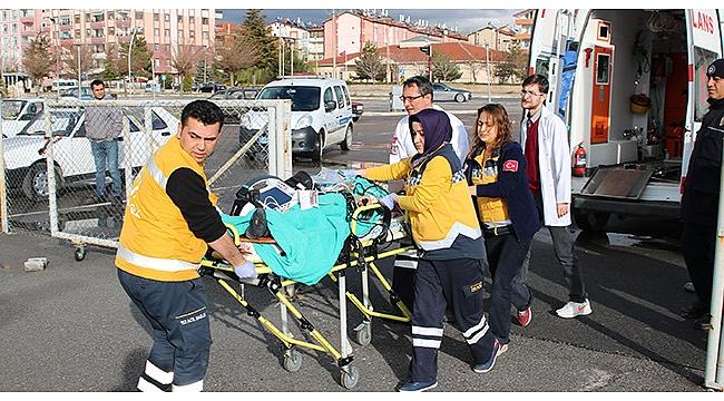 İnşaattan Düşen Çocuk Ağır Yaralandı