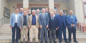 Esnaf Oda Başkanlarından Taban'a Ziyaret