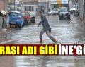 İnegöl'de Etkili Yağmur
