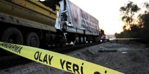 Bursa Yolundaki Kazada Faciadan Dönüldü