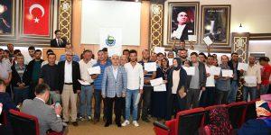 450 Çiftçiye Sertifikaları Törenle Verildi