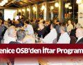 Yenice Osb'den İftar Programı