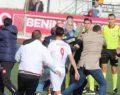 İnegöl'deki Amatör Maçta Ortalık Karıştı