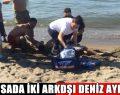 Bursa'da iki arkadaşı deniz ayırdı