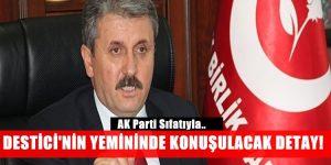Mustafa Destici AK Parti Milletvekili Sıfatıyla Yemin Etti