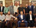 Destek Ziyaretlerinde Ak Parti İl Başkanı Ayhan Salman Ziyaret Edildi