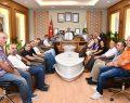 Dağcılık Branşındaki Sporculardan Başkan Taban'a Ziyaret