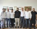 Kafkasspor Yönetimin'den Remzi Cinoğlu'na Ziyaret