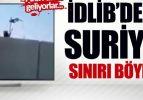 Suriyeliler, duvara merdiven dayayıp Türkiye'ye kaçıyor