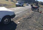 Bursa'da motosiklet otomobille çarpıştı: 1 ağır yaralı
