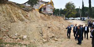 Yeniceköy'de 200 Metre Uzunluğunda Yeni Yol Açılıyor