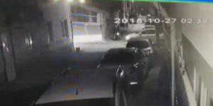 İnegöl'de Hırsızlık Anı Kameralara Böyle Yansıdı