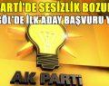 AK Parti'de ilk başvuru gerçekleşti
