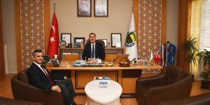 Dekan Pirinççi'den Başkan Taban'a Ziyaret