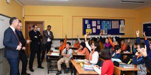 Başkan Taban'dan Öğrencilere Süpriz Ziyaret