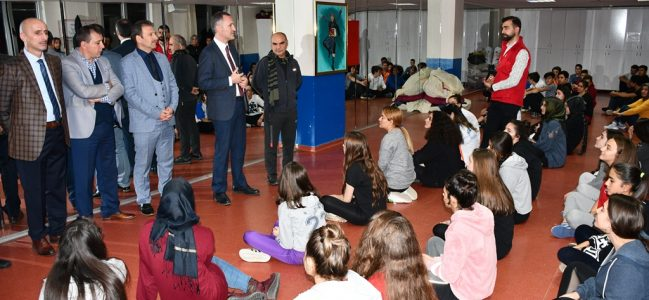Başkan Taban Halk Dansları Topluluğunu Ziyaret Etti