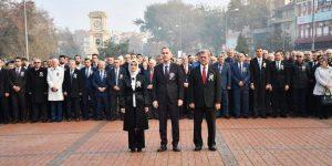 Ulu Önder 80.Ölüm Yıldönümünde Törenle Anıldı