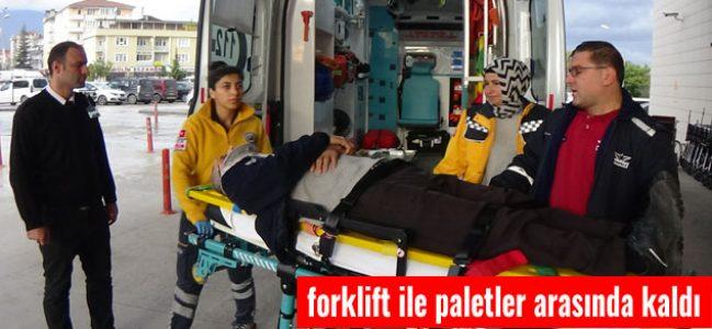 İnegöl'de Feci İş Kazası