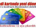 BDDK'nın Kredi Kartı Taksit Düzenlemesi Yürürlükte