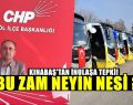 Kınabaş'tan İnulaşa Zam Tepkisi