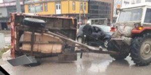 Ertuğrulgazi Caddesinde Kaza