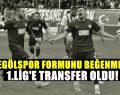 İnegölspor'dan 1.lige transfer oldu