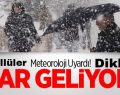 Meteroloji'den İnegöl'e Kar Uyarısı