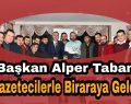 Alper Taban Gazeteciler Gününü Kutladı