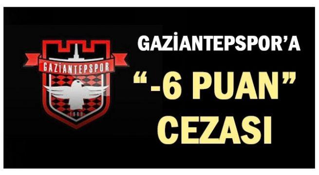 Gaziantepspor'a Cezalar Peşpeşe Geliyor