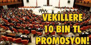 Milletvekillerine Halk Bankasından Promosyon