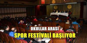 Beden Eğitimi Öğretmenleri Okullar Arası Spor Festivali İçin Toplandı