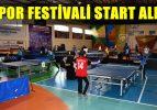 Masa Tenisi Müsabakasıyla Yarışmalar Başladı