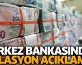 Merkez Bankasın'dan Enflasyon Açıklaması