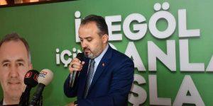 Alinur Aktaş İnegöl'de Sert Konuştu