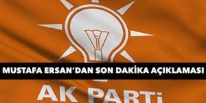 AK Parti'de meclis listesi açıklaması